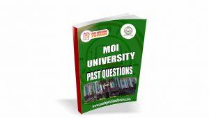 Moi University Past Questions